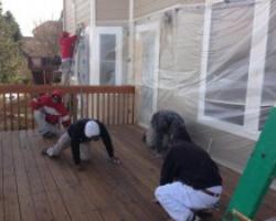 Deck Prepping