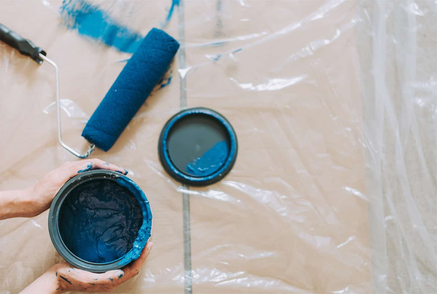 Picture of painting supplies